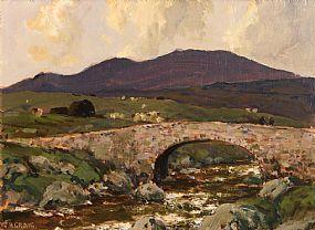James Humbert Craig, Lackagh Bridge, North Donegal at Morgan O'Driscoll Art Auctions