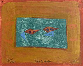Tony O'Malley, Birds St. Martins (1972) at Morgan O'Driscoll Art Auctions