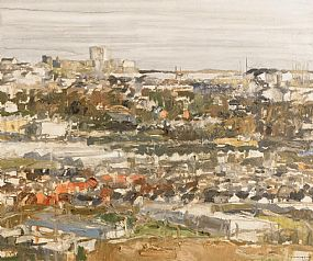 Colin Davidson, Towards Carrickfergus From Knockagh at Morgan O'Driscoll Art Auctions
