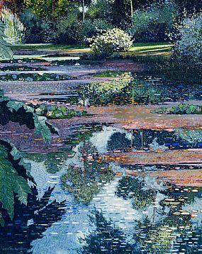 Victor Richardson, Blue Pool (2001) at Morgan O'Driscoll Art Auctions