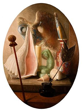 Stuart Morle, Homage to Chardin at Morgan O'Driscoll Art Auctions
