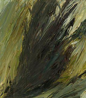 Mary Lohan, Dark Tree Trunk at Morgan O'Driscoll Art Auctions