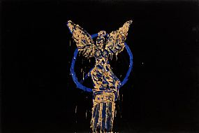 Michael Cullen, Victory Column and Goddess Viktoria, Berlin (Berlin Series c.1985) at Morgan O'Driscoll Art Auctions