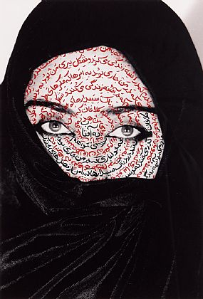 Shirin Neshat, I am its Secret (1993) at Morgan O'Driscoll Art Auctions
