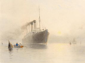 Joseph William Carey, Entering the Harbour at Morgan O'Driscoll Art Auctions