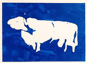 Louis Le, The Tain - The Bull Of C�ailnge (Blue) (1989) at Morgan O'Driscoll Art Auctions