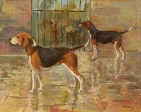 Basil Blackshaw, Dalesman and Dewdrop (1950) at Morgan O'Driscoll Art Auctions