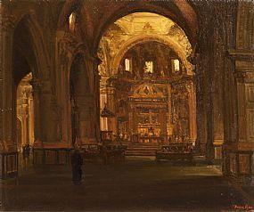 Thomas Ryan, Cathedral Valencia at Morgan O'Driscoll Art Auctions