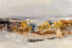 Richard Kingston, Winter Summit, Glen of the Downs, Co Wicklow at Morgan O'Driscoll Art Auctions
