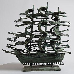 John Behan, Famine Ship at Morgan O'Driscoll Art Auctions