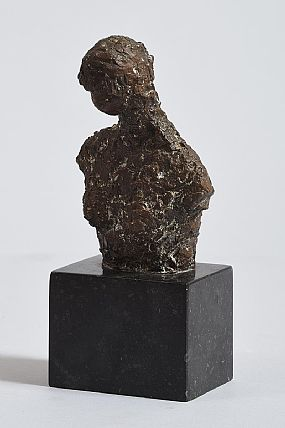 Melanie Le, Female Bust at Morgan O'Driscoll Art Auctions