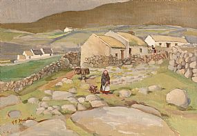 Kathleen Isabella Mackie, The Grey Walls, Bloody Foreland, Donegal (1959) at Morgan O'Driscoll Art Auctions