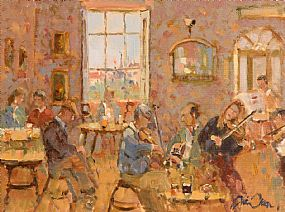 Liam Treacy, The Music Room at Morgan O'Driscoll Art Auctions