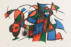Joan Miro, Lithographie II (1975) at Morgan O'Driscoll Art Auctions