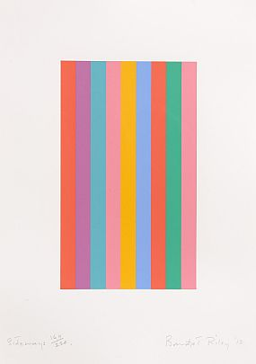 Bridget Riley, Sideways (2010) at Morgan O'Driscoll Art Auctions