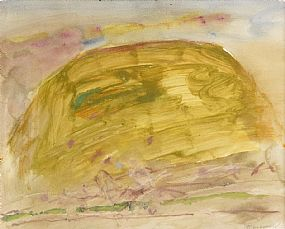 Basil Blackshaw, Yellow Hill at Morgan O'Driscoll Art Auctions