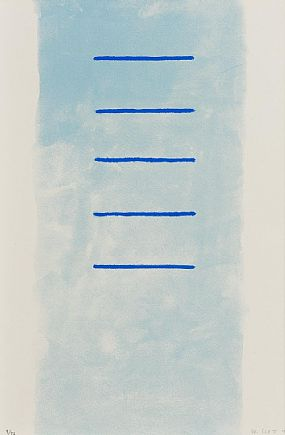 William Scott, Alexander Suite: Lines with Breadth Supercede (1972) at Morgan O'Driscoll Art Auctions