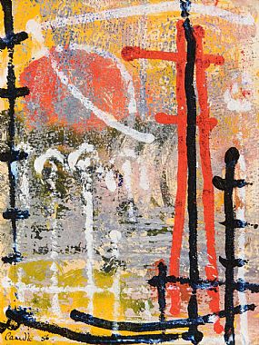 Camille Souter, Abstract (1956) at Morgan O'Driscoll Art Auctions