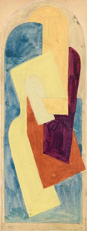 Mainie Jellet, Abstract Composition (c.1922) at Morgan O'Driscoll Art Auctions