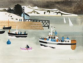 Mary Fedden, Baltimore, West Cork (2001) at Morgan O'Driscoll Art Auctions