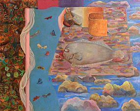 Stephen McKenna, Surreal Dream (1967-68) at Morgan O'Driscoll Art Auctions