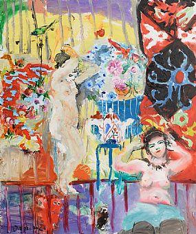 Dominic Hills, Bird Cage (2007) at Morgan O'Driscoll Art Auctions