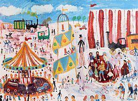 Simeon Stafford, Circus at Morgan O'Driscoll Art Auctions