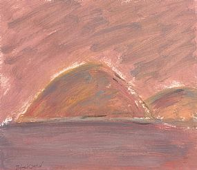 Basil Blackshaw, Pink Hill at Morgan O'Driscoll Art Auctions