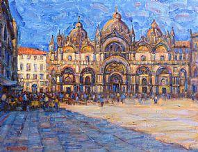 John Mackie, St. Marco, Venice (2013) at Morgan O'Driscoll Art Auctions
