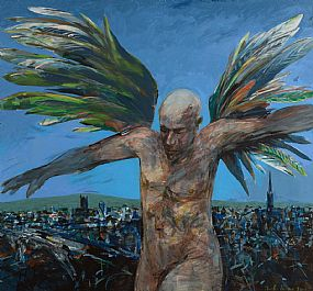 Charles Harper, Protective Angel (2004) at Morgan O'Driscoll Art Auctions