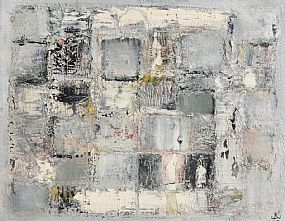 John Kingerlee, Grid - Composition with Landscape (1999) at Morgan O'Driscoll Art Auctions
