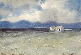 Percy French, The Galtees (1910) at Morgan O'Driscoll Art Auctions