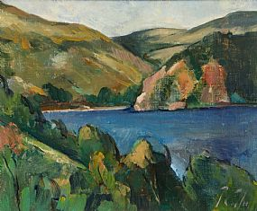 Peter Collis, Lough Dan, Co. Wicklow at Morgan O'Driscoll Art Auctions