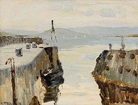 Charles Vincent Lamb, Bringing Home The Seaweed at Morgan O'Driscoll Art Auctions