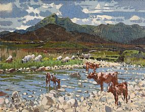 Maurice MacGonegal, West of Ireland Landscape at Morgan O'Driscoll Art Auctions