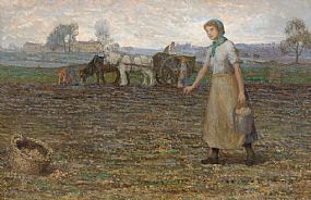 Stanley Royle, Potato Pickers (1913) at Morgan O'Driscoll Art Auctions