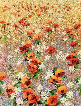 Kenneth Webb, Poppy Meadow at Morgan O'Driscoll Art Auctions