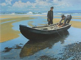John Skelton, Keem Strand, Achill Island, Co. Mayo (1993) at Morgan O'Driscoll Art Auctions