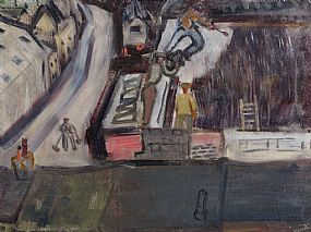 Nano Reid, Tarring the Shed at Morgan O'Driscoll Art Auctions