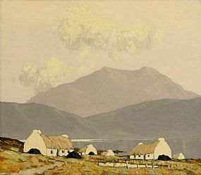 Paul Henry, Killary Bay, Connemara (1924-5) at Morgan O'Driscoll Art Auctions