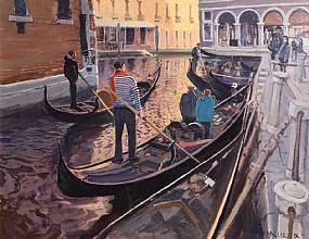 Cecil Maguire, Bacino Orseolo, Venezia (2006) at Morgan O'Driscoll Art Auctions