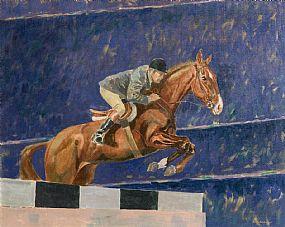 Basil Blackshaw, Paul Darragh at Dublin Horse Show, RDS at Morgan O'Driscoll Art Auctions
