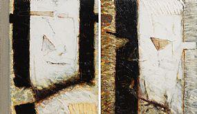 John Shinnors, Strawboy's Masks at Morgan O'Driscoll Art Auctions