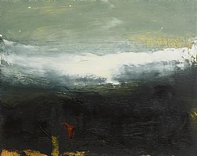 Hughie O'Donoghue, Boat Train Studies IV (2005) at Morgan O'Driscoll Art Auctions