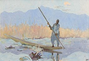 Eileen Murray, Lake in Kashmir c.1915 at Morgan O'Driscoll Art Auctions