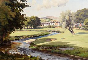 Charles J. McAuley, Cushendall Golf Course & Lurig Mountain at Morgan O'Driscoll Art Auctions