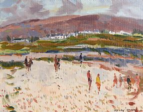 Henry Healy, Summer Time, Connemara at Morgan O'Driscoll Art Auctions