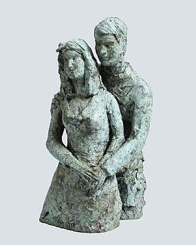Elizabeth Le Jeune, The Couple at Morgan O'Driscoll Art Auctions