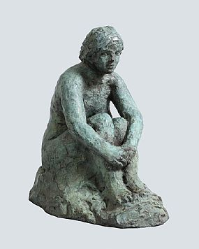 Elizabeth Le Jeune, Seated Nude at Morgan O'Driscoll Art Auctions