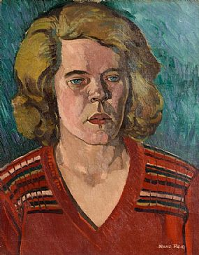 Nano Reid RHA (1905-1981), Portrait of a Lady at Morgan O'Driscoll Art Auctions